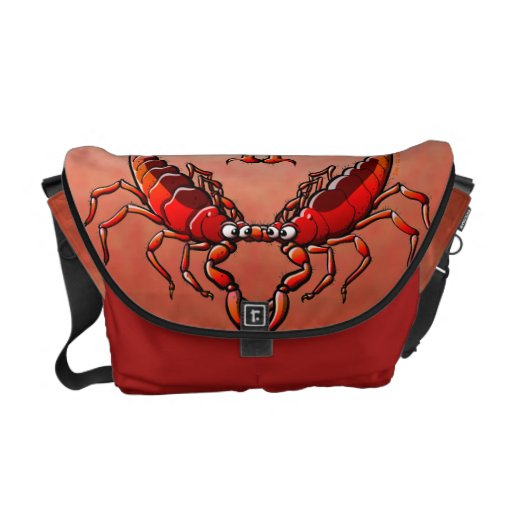 Loving Scorpions Courier Bags