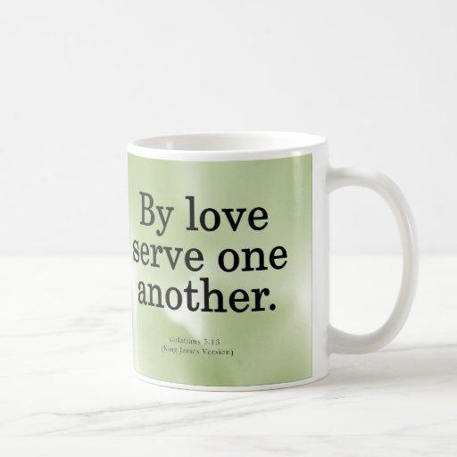 Loving Service Galatians 5-13 Mugs