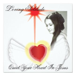 Loving Solitude Quiet Your Heart In Jesus Card