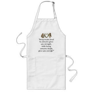 Loving Someone Deeply Chef's Apron