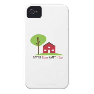 Loving Space Happy Place iPhone 4 Case-Mate Cases