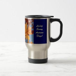 Loving Sunny Autumn Days! Coffee Mugs gifts