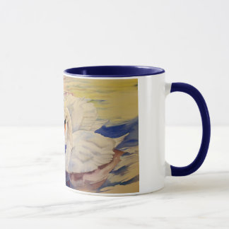 Loving Swans Valentine Coffee Mug