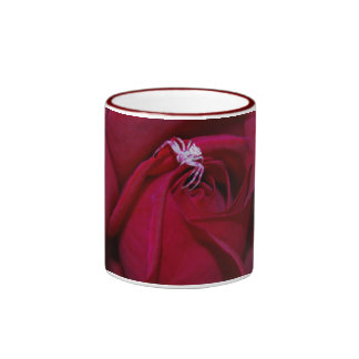 Loving the red rose and meaning coffee mug