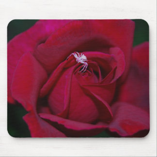 Loving the red rose and meaning mouse pad