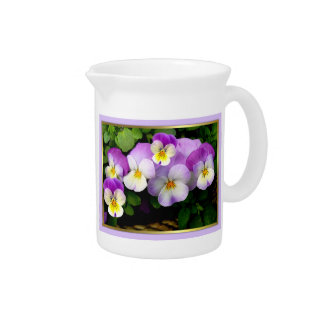 Loving Thoughts # 2 ~ Pansy Pitcher