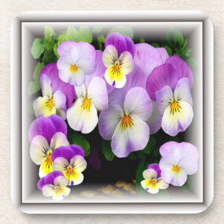 Loving Thoughts   -  Pansy Coasters