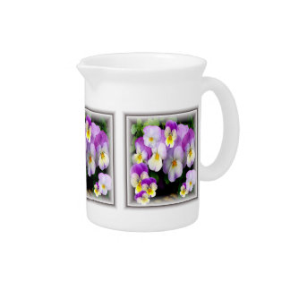 Loving Thoughts+ Pansy Pitcher