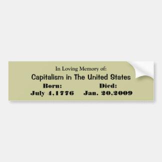 Loving tribute bumper Sticker