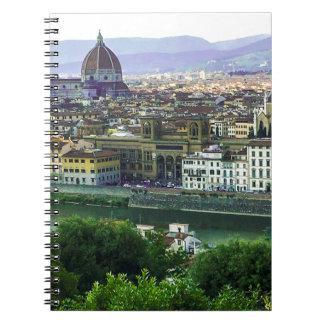 Loving Tuscany! Photo Print Notebook