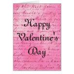 Loving Words Valentine's Day Greeting Card