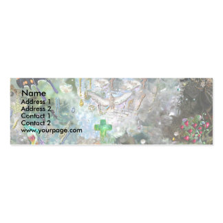 Loving World, template Mini Business Card