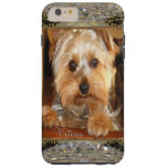 Loving Yorkies or Insert Your Own Photo Tough iPhone 6 Plus Case