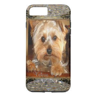 Loving Yorkies   or Insert Your Own Photo iPhone 7 Plus Case