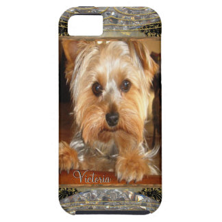 Loving Yorkies or Insert Your Own Photo iPhone SE/5/5s Case