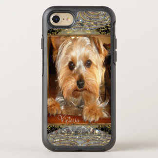 Loving Yorkies or Insert Your Own Photo OtterBox Symmetry iPhone 7 Case