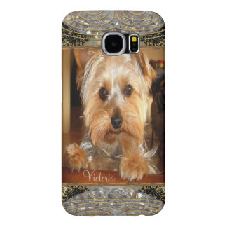 Loving Yorkies or Insert Your Own Photo Samsung Galaxy S6 Case