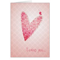 loving, love, lovable, couple, feelings, passion, infatuation, romantic, romanticism, lovers, boyfriend, girlfriend, best, seller, selling, best selling, creative, unique, Card with custom graphic design