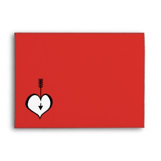 Loving You red Card Envelope