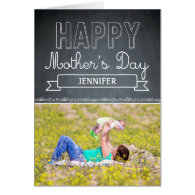 Lovingly Drawn Mothers Day Photo Card