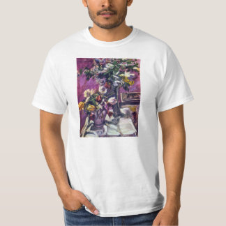 Lovis Corinth - Lilac and tulips T-Shirt