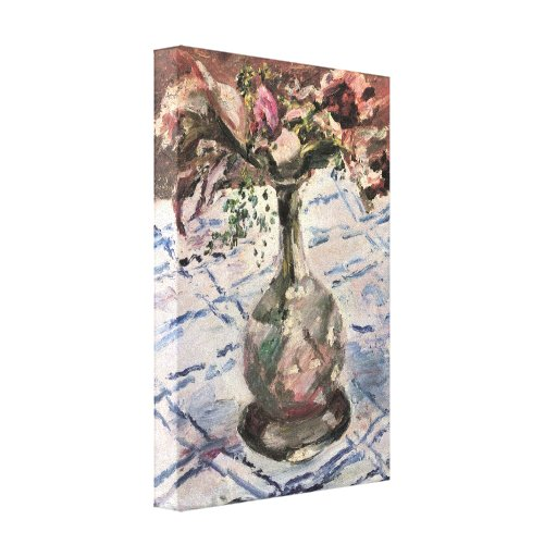 Lovis Corinth - Orchid Canvas Print