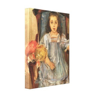 Lovis Corinth - Portrait of Sophie Cassirer Gallery Wrapped Canvas