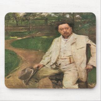 Lovis Corinth - Portrait of the pianist Conrad Ans Mousepad