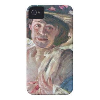 Lovis Corinto - retrato de Charlotte Berend-Corin Case-Mate iPhone 4 Coberturas