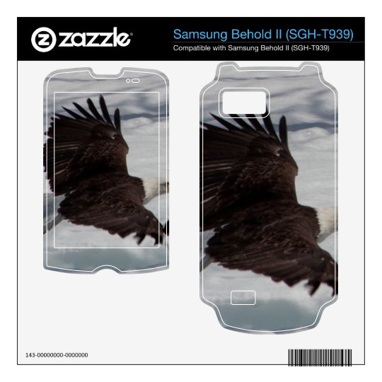 Low-Altitude Fly By Samsung Behold II Decal