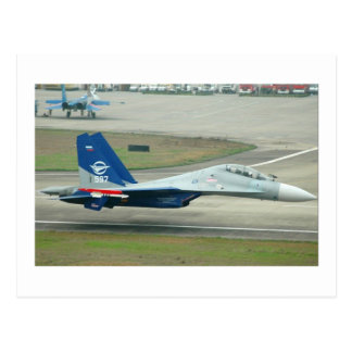 LOW AND FAST! RUSSIAN AIRSHOW POSTCARD