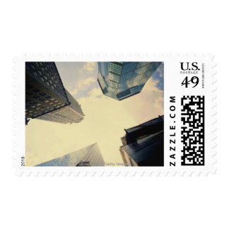 Low angle of the Chrysler Building Stamps