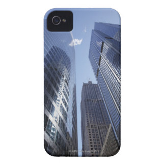 Low angle upward exterior view of downtown 2 iPhone 4 cover