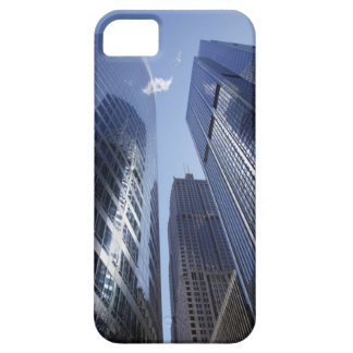 Low angle upward exterior view of downtown 2 iPhone SE/5/5s case