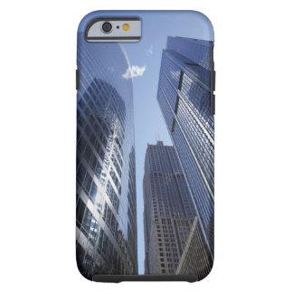 Low angle upward exterior view of downtown 2 tough iPhone 6 case