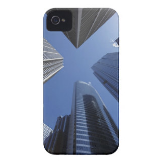 Low angle upward exterior view of downtown iPhone 4 cover