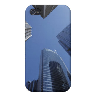 Low angle upward exterior view of downtown iPhone 4 covers