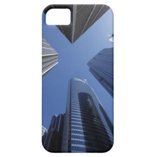 Low angle upward exterior view of downtown iPhone SE/5/5s case