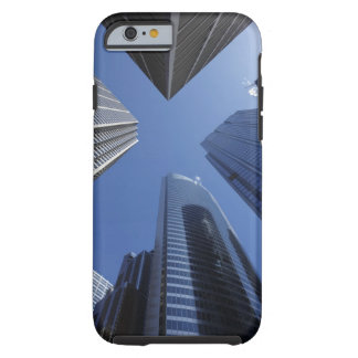 Low angle upward exterior view of downtown tough iPhone 6 case