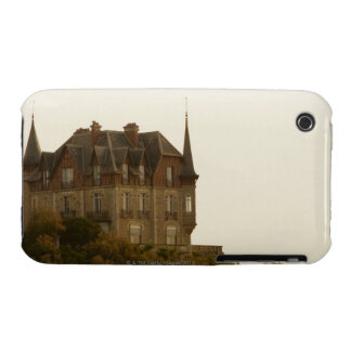 Low angle view of a castle, Biarritz, Basque iPhone 3 Covers