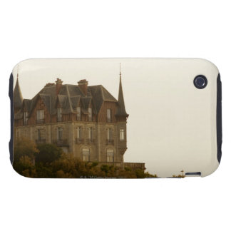 Low angle view of a castle, Biarritz, Basque iPhone 3 Tough Case