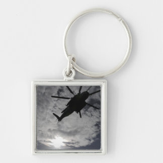 Low angle view of a CH-53E Key Chain