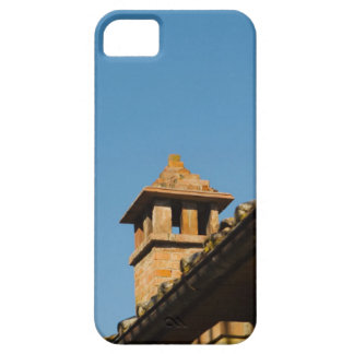 Low angle view of a chimney on a roof, San iPhone SE/5/5s Case