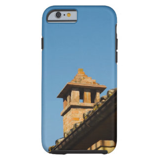 Low angle view of a chimney on a roof, San Tough iPhone 6 Case