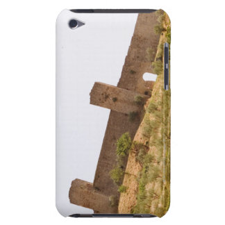 Low angle view of a fort, Monteriggioni, Siena iPod Touch Case