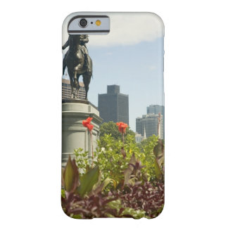 Low angle view of a statue in the garden, barely there iPhone 6 case