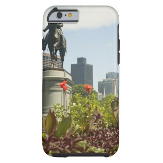 Low angle view of a statue in the garden, tough iPhone 6 case