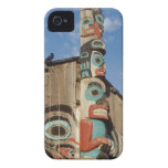 Low angle view of a Totem Pole, Haines, Alaska, Case-Mate iPhone 4 Cases