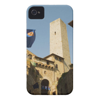 Low angle view of a tower, Torri Di San iPhone 4 Cover