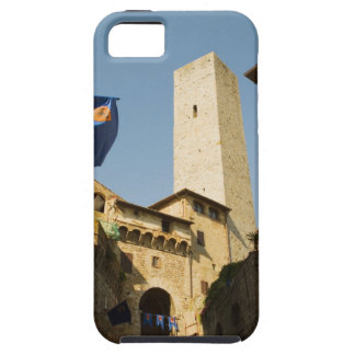 Low angle view of a tower, Torri Di San iPhone SE/5/5s Case